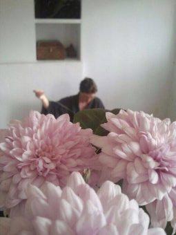 LOS POEMAS DE DAICHI: 50. Mirar las flores en Washio.
