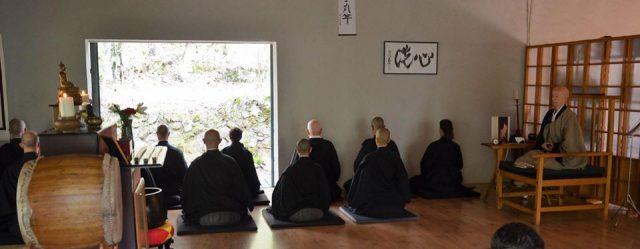 LOS POEMAS DE DAICHI: 48. To setsu ken — La ermita de To
